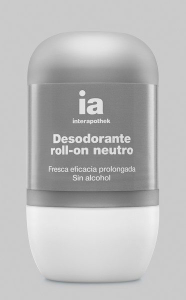 Interapothek Desodorante Neutro Roll On 50 ml