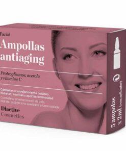 Comprar Diactive Ampollas Faciales Antiaging 5 Uds + Aplicador - Tratamiento Diario Intensivo Antiarrugas