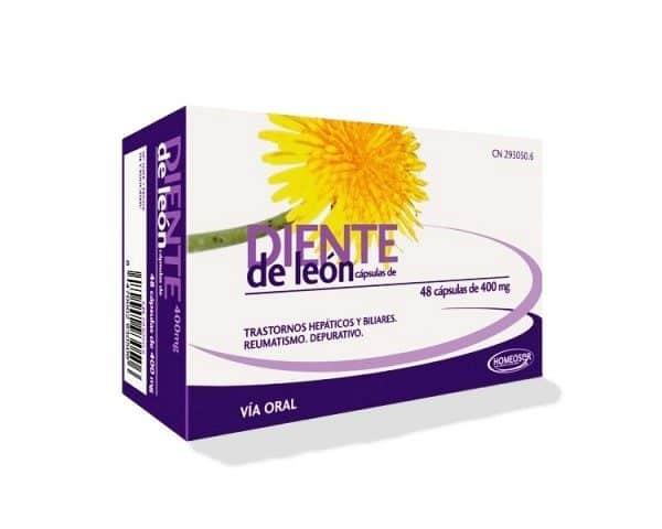 Comprar Homeosor Diente de León 400 mg 48 Cápsulas
