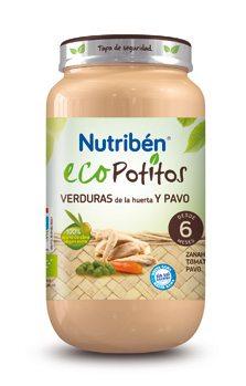 Comprar Nutriben Eco Verduras Huerta Pavo 250 G