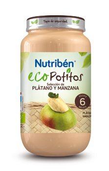 Comprar Nutriben Eco Selección Platano Manzana 200 G