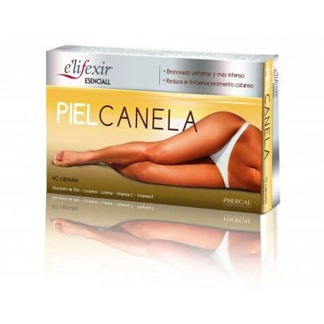 Elifexir Esenciall Piel Canela 40 cápsulas