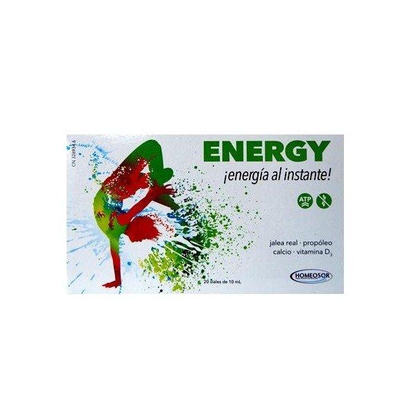 Comprar Energy 20 viales de 10ml Homeosor