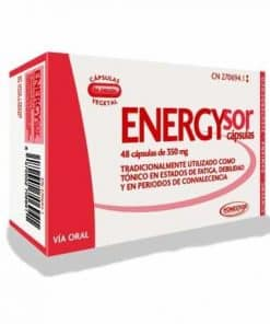 Comprar Homeosor Energysor 350 mg 48 Cápsulas