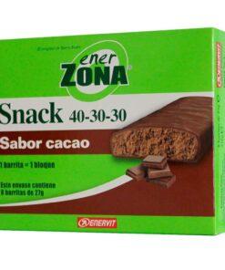 Enerzona Snack Chocolate Barritas 5 Ud - La Barrita Para Comer Entre Horas