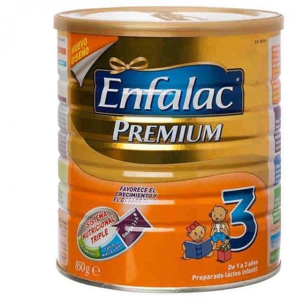 Enfalac -3- Premium Bote 850 Gramos
