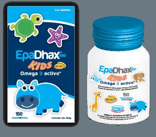Epadhax Omega 3 Activo 550 mg 150 Cápsulas