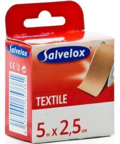 Comprar Esparadrapo Salvelox Textil Carne 5 m X 2