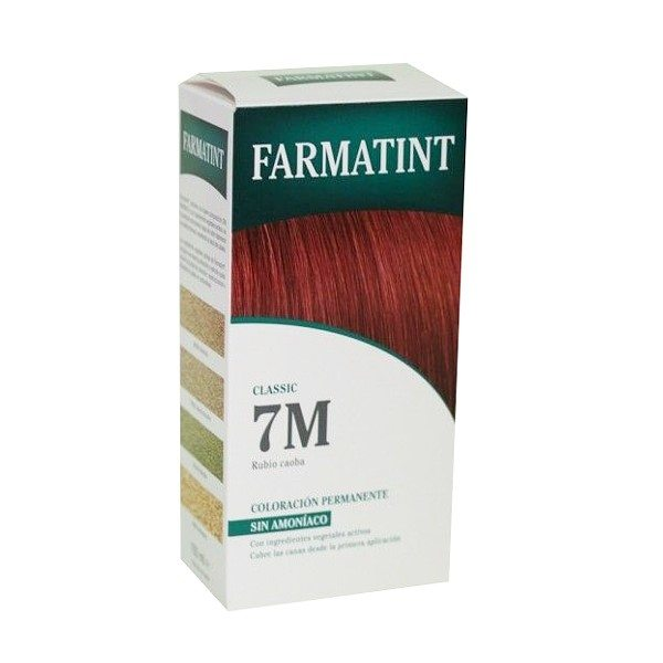 Farmatint 7 M Rubio Caoba 130 ml