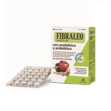 Comprar Fibra Leo Prebiótico Y Probiótico 180Comp - Mejora la Flora Intestinal