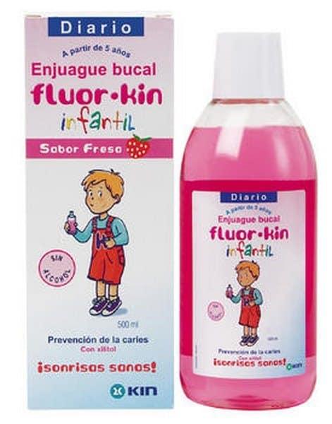 Comprar fluor-kin ejuague bucal infantil