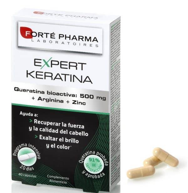 Expert Keratina 40 Cápsulas