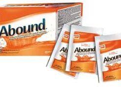 Abound Sabor Naranja 30 sobres x 24 gramos - Alimento para Cicatrización de Heridas