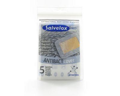 Salvelox Maxi Cover Antibacterias 5 Unidades