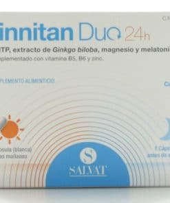 Tinnitan Duo 24 Horas 60 Cápsulas