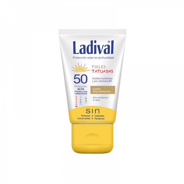 Lavidal Piel Tatuada Fotoprotector FPS +50 Protección alta - Protector solar