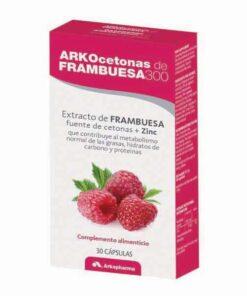 ArkoCetonas de frambuesa 300 mg 30 cáps
