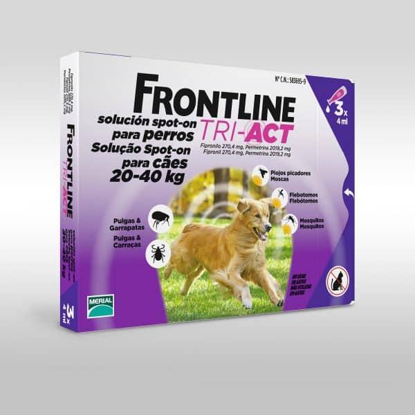 Comprar Frontline Perro Tri-Act 20-40 Kg