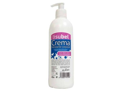 Comprar Lisubel Crema Hidratante Corporal 400 Ml