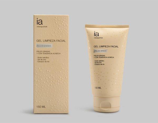Gel Limpiador Facial 150 ml para Pieles Grasas de Interapothek