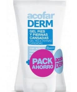 Pack Acofar Gel Pies y Piernas Cansadas 2 x 125 ml - Revitalizante y Refrescante