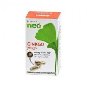Ginkgo Biloba Neo 475mg 45 Capsulas - Mejora la memoria y la microcirculación
