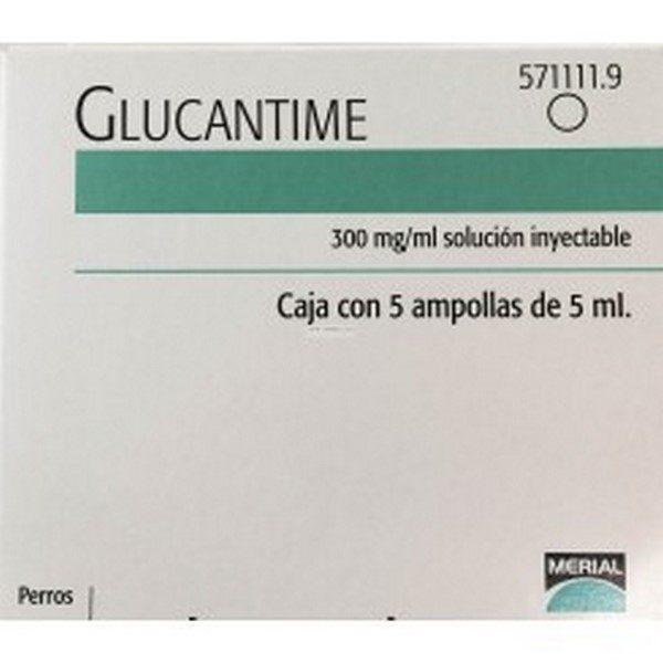 Comprar Glucantime Solución Inyectable 5 Ampollas 5 ml - Antiprotozoario para la Leishmaniasis Canina