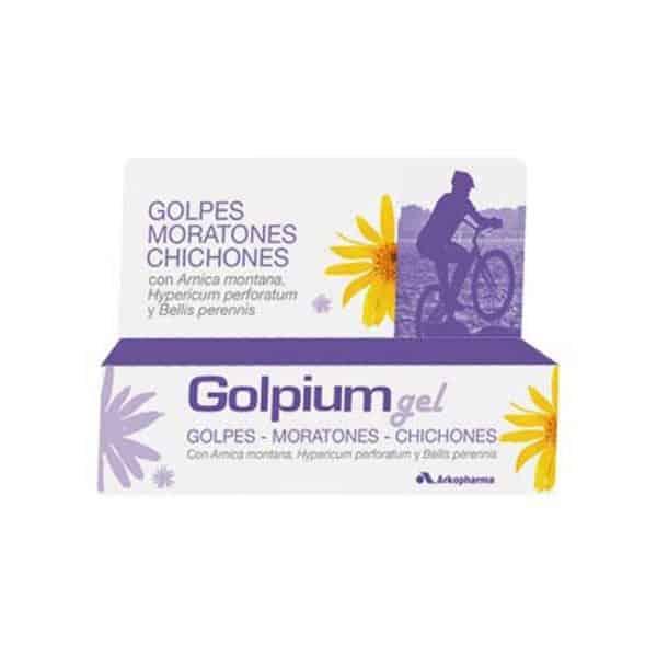 Golpium Gel con arnica
