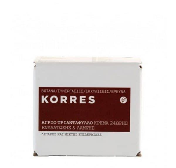 Comprar Korres Crema de Día Rosa Salvaje 40 ml - Crema Hidratante Iluminadora 24 horas Para Pieles Mixtas a Grasas