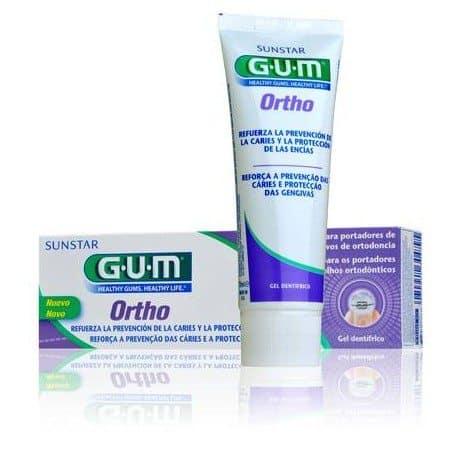 Comprar Gum Ortho Gel Dentifrico 75 Ml - Gel Dentífrico para Limpieza de Ortodoncias