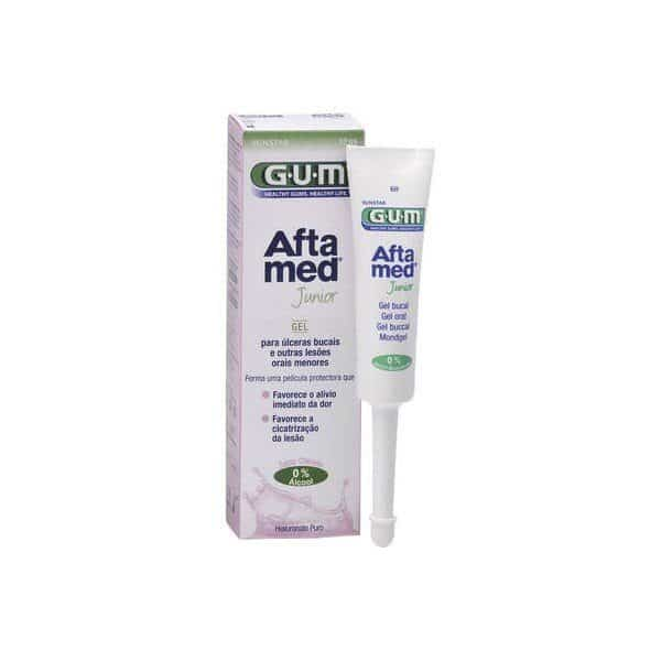 Comprar Gum Aftamed Gel Bucal Junior 12ml