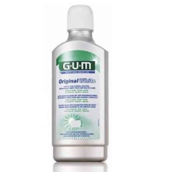 Comprar Gum Original White Colutorio 500 ml - Dientes Blancos y Encías Sanas 0% Alcohol