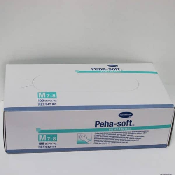 Comprar Guantes Peha Soft Latex S/Polvo T/M 100U - Guantes de Latex Sin Polvo