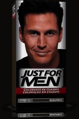 Comprar Just For Men Colorante en Champú 30 cc Negro