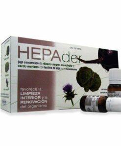 Comprar Hepader 10 ml 14 Viales Homeosor Rábano Negro