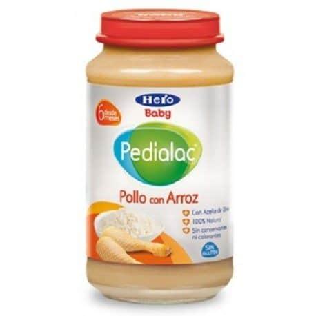 Hero Baby Pedialac Pollo Con Arroz 250Gr - Potito Pollo Y Arroz