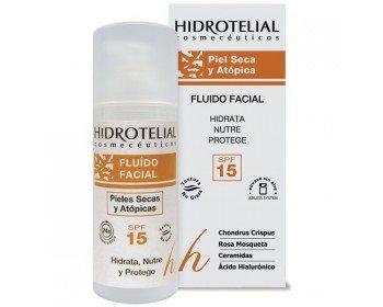 Comprar Hidrotelial Fluido Facial Seca/Atopica 50 ml es un fluido ideal para mantener la hidratación de las pieles más secas y sensibles. Puede usarse como base de maquillaje.