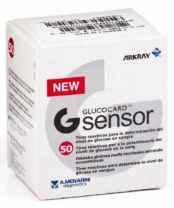 Tiras Reactivas Glucemia Glucocard G Sensor - Medidoras de Glucosa