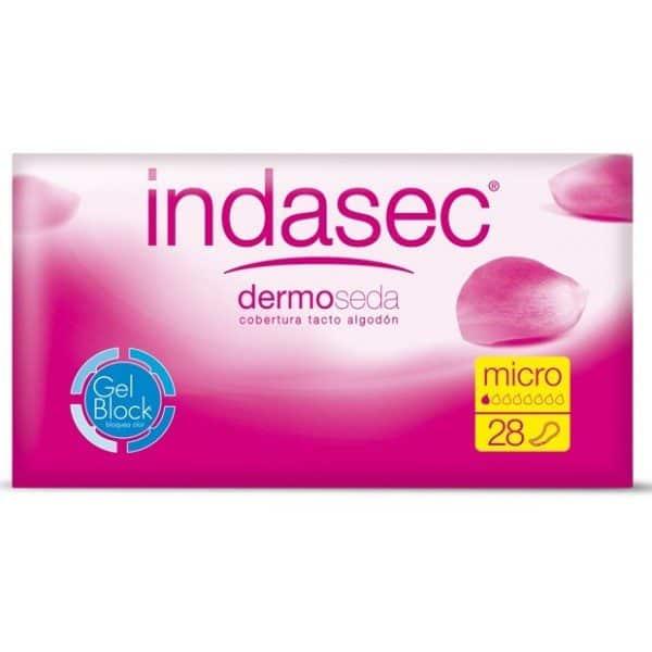 Comprar Indasec Micro 28 Unid 45 Ml - Compresa para Pequeñas Perdidas