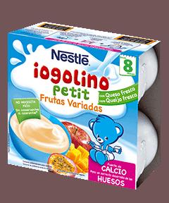 Iogolino Petit Frutas 100 Gr 4 Unidades