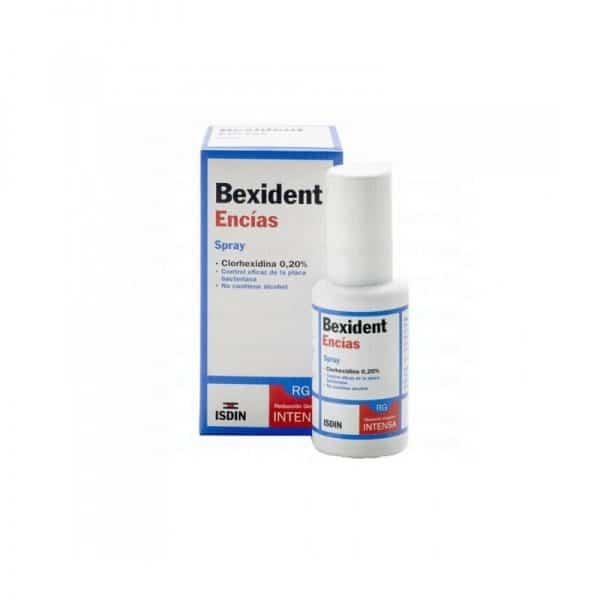 Isdin - Bexident Encias Spray bucal Con Clorhexidina 40 ml para encias dañadas