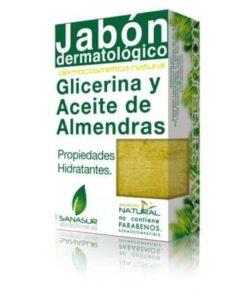 Comprar Sanasur Jabón Glicerina y Aceite de Almendras 100 gr