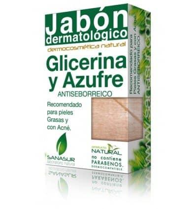 Comprar Sanasur Jabón Glicerina y Azufre 100 gr