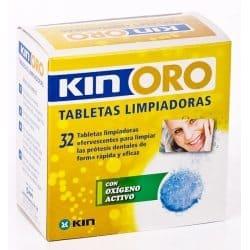 Comprar Kin Oro Tabletas Limpiadoras 32 Ud