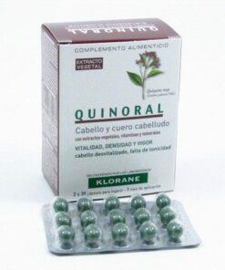 Comprar Klorane Quinoral Caída del Cabello 60 Cápsulas
