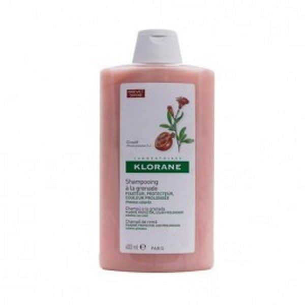Comprar Klorane Champú 400 ml - Para Cabellos Teñidos con Extracto de Granada