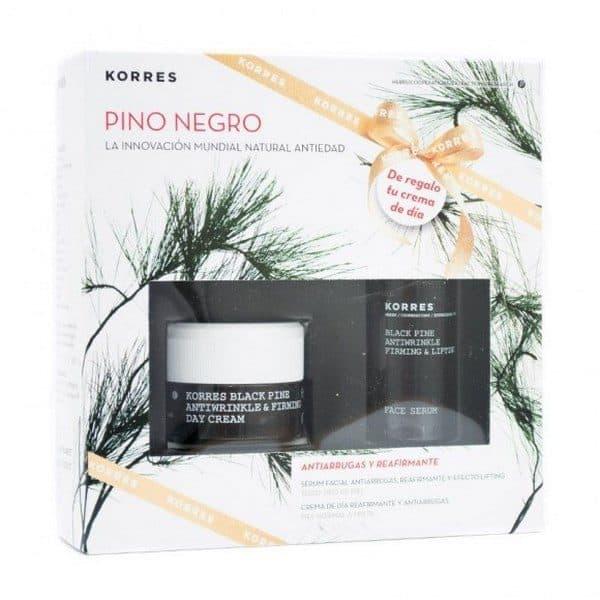 Comprar Korres Pack Pino Negro para Pieles Normal a Mixta - Crema de Día y Sérum