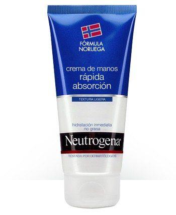 Neutrogena Crema Manos Rápida Absorción 75 ml - Hidratación y Nurición