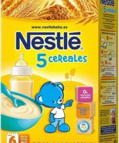 Nestlé 5 Cereales 600 gr - Papillas de Cereales