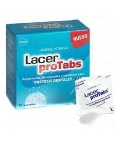 Comprar Lacer Protabs Limpieza Prótesis 32 Comprimidos